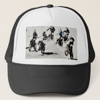 The Race is On - Motocross Racers Trucker Hat