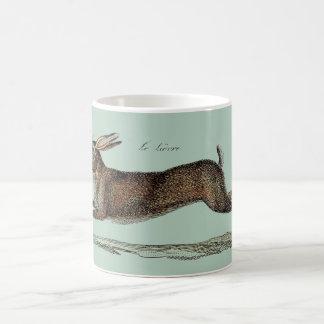 The Racing Hare at Easter Mug