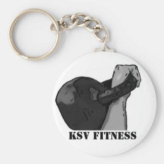 The Rack Kettlebell Keychain