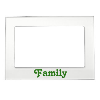 "The Rad Mall ""Family"" Photo Frame"