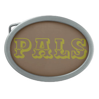 "The Rad Mall ""PALS"" Western Belt Buckle"