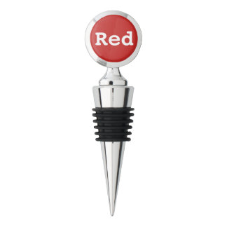 """The Rad Mall """"Red"""" Wine Stopper"""