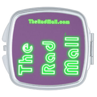 "The Rad Mall ""Retro"" Logo Compact Mirror"