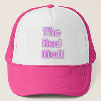 "The Rad Mall ""Retro"" Logo Trucker Cap (Womens)"