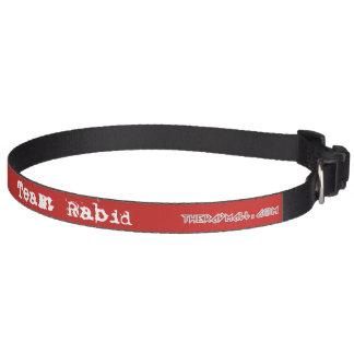 "The Rad Mall ""Team Rabid"" 20"" - 26"" Dog Collar"