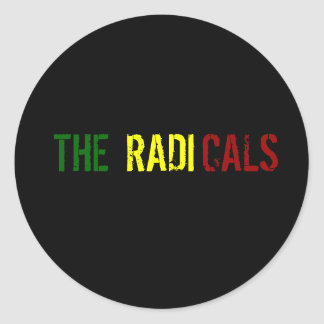 The Radicals Classic Round Sticker