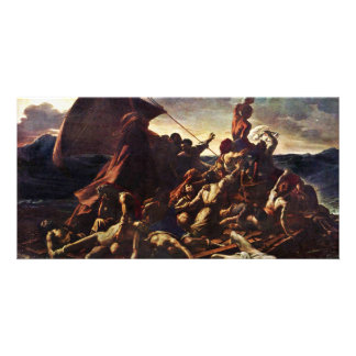 The Raft Of The Medusa, By Géricault Jean Louis Th Customized Photo Card