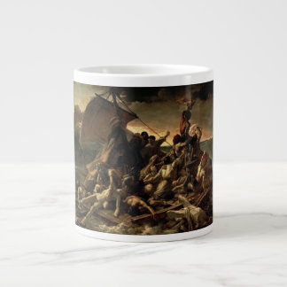 The Raft of the Medusa - Théodore Géricault Large Coffee Mug