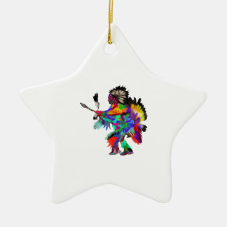 The Rain Dance Ceramic Ornament