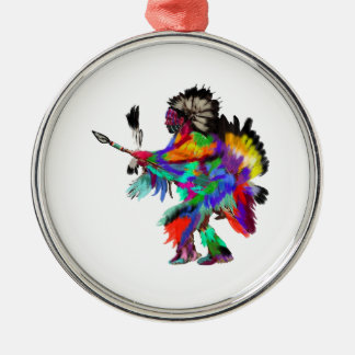 The Rain Dance Metal Ornament
