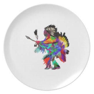 The Rain Dance Plate