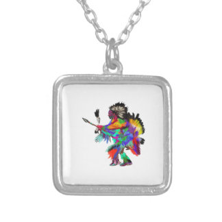 The Rain Dance Silver Plated Necklace