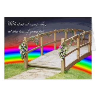 The rainbow bridge cards