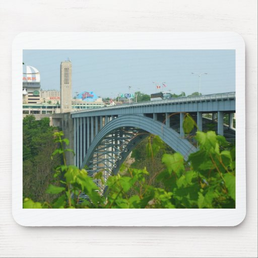 The Rainbow Bridge, Niagara Falls Mouse Pad