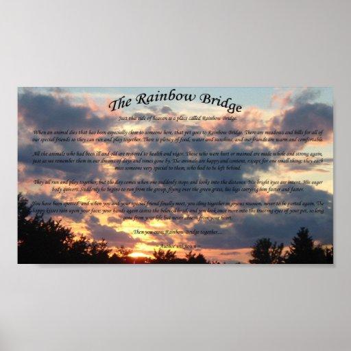 The Rainbow Bridge Posters