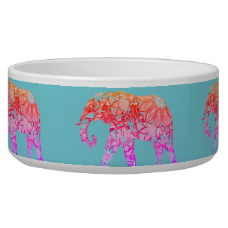 THE RAINBOW ELEPHANT WATER/FOOD BOWL GIFT