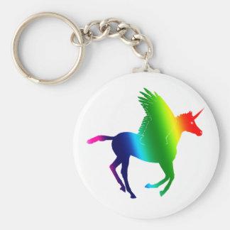The Rainbow Pegacorn Keychain