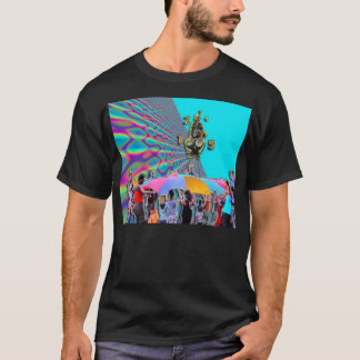 The Rainbow Trampoline T-Shirt