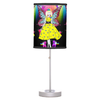 The Rainbow Unicorn Fairy Table Lamps