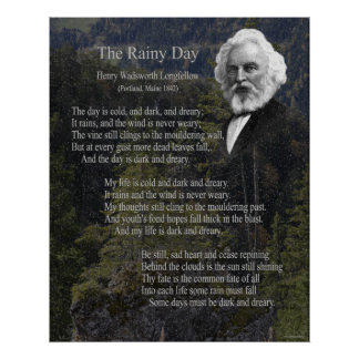 The Rainy Day 16x20 Poster
