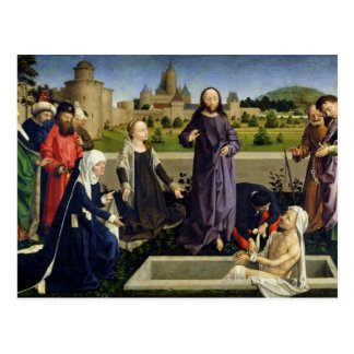 The Raising of Lazarus Postcard