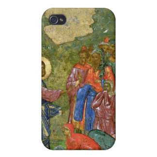 The Raising of Lazarus, Russian icon Cover For iPhone 4