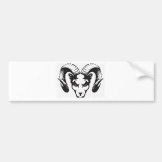 THE RAM COLLECTION BUMPER STICKER