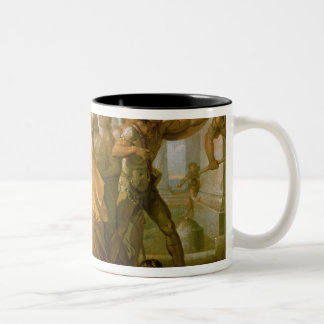 The Rape of Helen, 1770s Two-Tone Coffee Mug