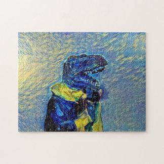 The Raptor Jesus Jigsaw Puzzle