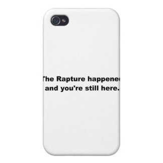 The Rapture happened and you're still here. Case For iPhone 4