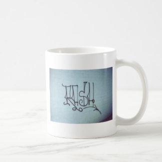 The Rash Collection Classic White Coffee Mug