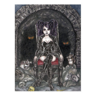 The Rat Queen Postcard