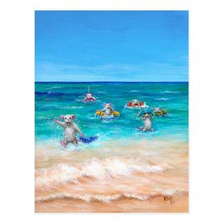 The Rat Race Beach Postcard