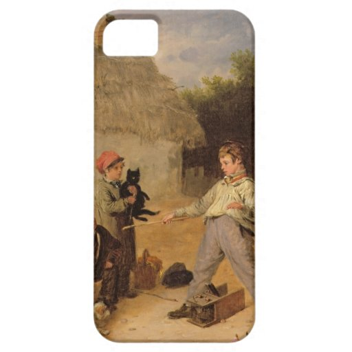 The Rat Trap (oil on panel) iPhone 5 Case