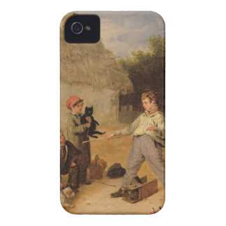 The Rat Trap (oil on panel) iPhone 4 Covers