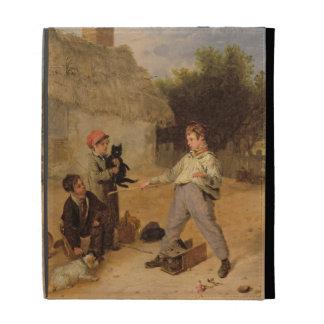 The Rat Trap (oil on panel) iPad Folio Cover