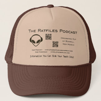 The Ratfiles Official Merchandise Logo Hat