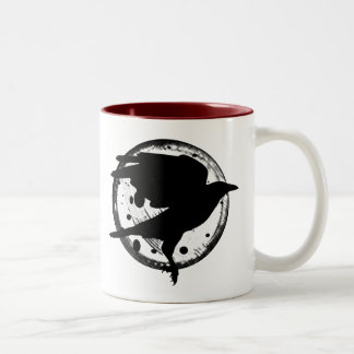 The Raven and the Moon Mug