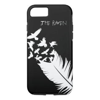 The Raven, Black and White iPhone 8/7 Case