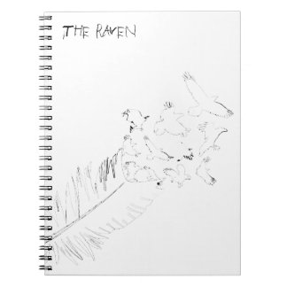The Raven, Black and White Note Books