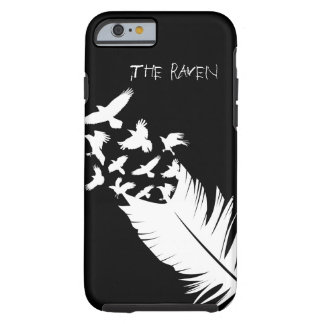 The Raven, Black and White Tough iPhone 6 Case