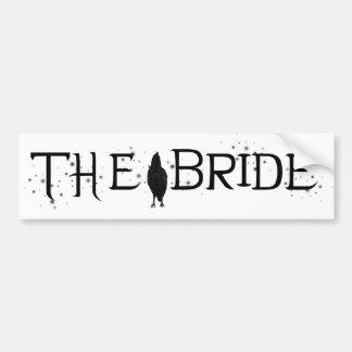 The Raven Bride Bumper Sticker