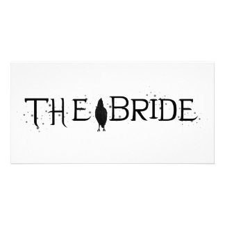 The Raven Bride Personalized Photo Card