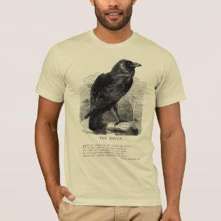 The Raven by Edgar Allen Poe T-Shirt