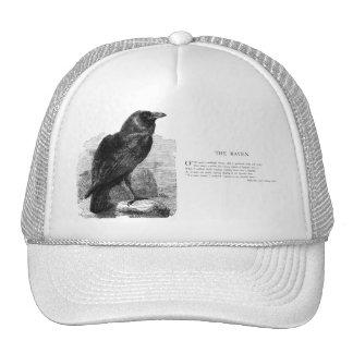 The Raven by Edgar Allen Poe Trucker Hat
