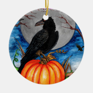 The Raven Ceramic Ornament