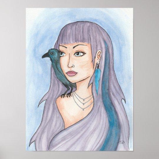 The Raven Girl Poster