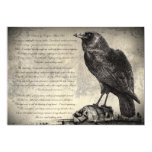 The Raven Gothic Horror Halloween Party Invitation