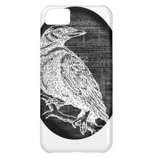 """The Raven"" inspired graphic design Case For iPhone 5C"