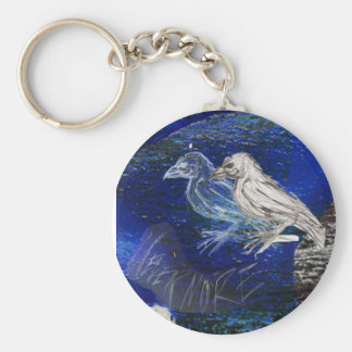 The Raven Keychain